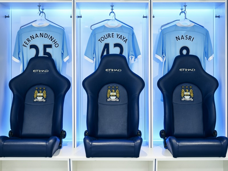 MCFC Changing Rooms